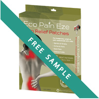 FREE SAMPLE Eco PainEze (One Patch) Limit 1 per customer