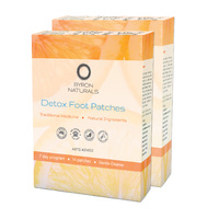 detox foot patches | 14 pairs | 2 boxes