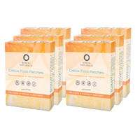 detox foot patches | 42 pairs | 6 boxes
