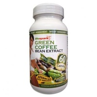 High Strength Green Coffee Bean Extract 800mg | 60 Caps