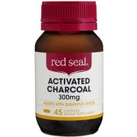 Red Seal Activated Charcoal 300mg | 45 Caps