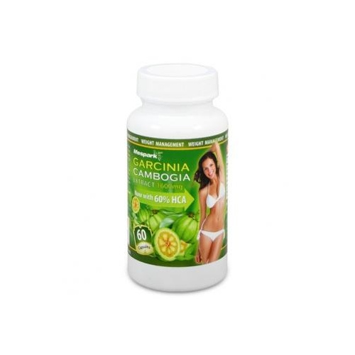 Garcinia Cambogia Pure Extract 1600mg with 60% HCA | 60 Caps
