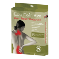 Eco Pain Eze - Pain Relief Patches | 8 boxes (48 heat patches)